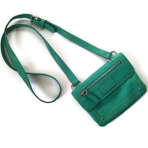 Cole Haan Bag crossbody green leather